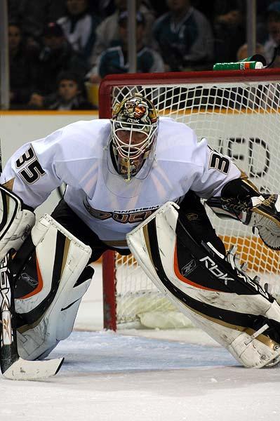 Anaheim Ducks Jean-Sebastien Giguere