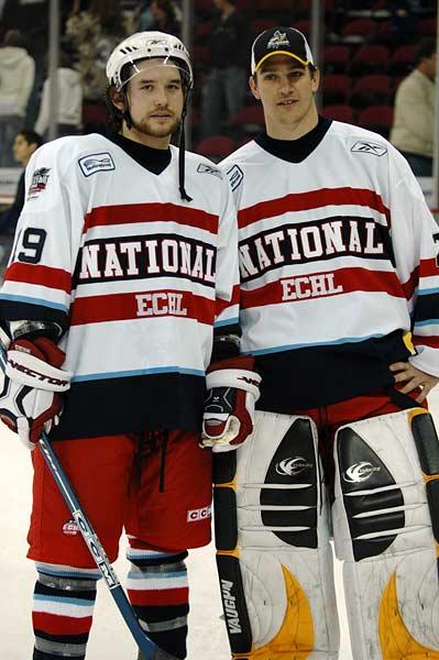 2006 ECHL Allstar Mike Lalonde Jake Moreland