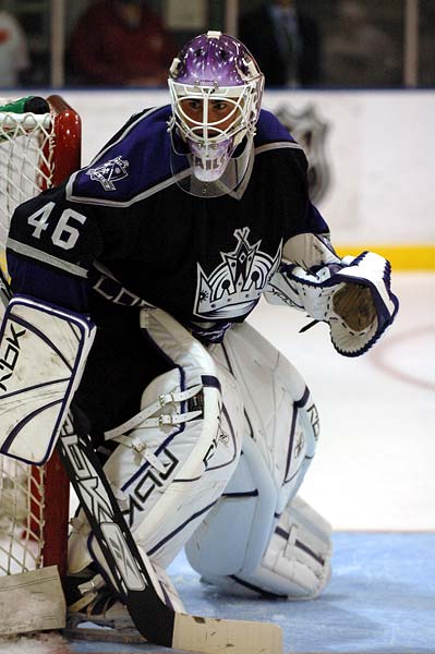 Los Angeles Kings Jonathan Bernier