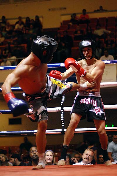 Born to Fight 7 amateur muay thai kickboxing