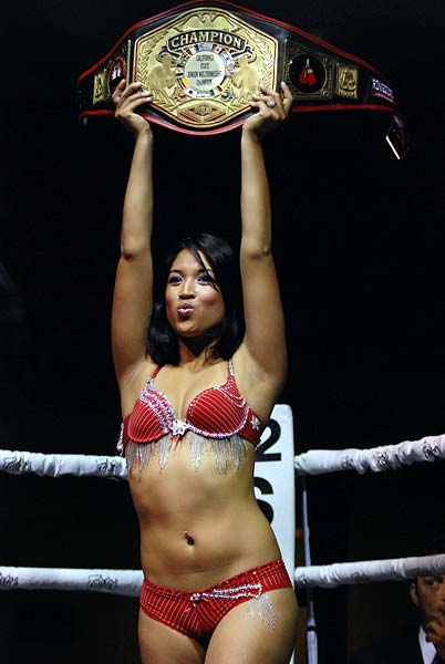Riot Boxing Ring Girl