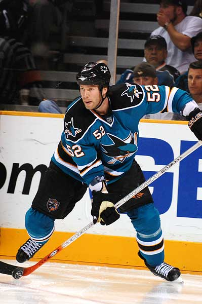 San Jose Sharks Craig Rivet