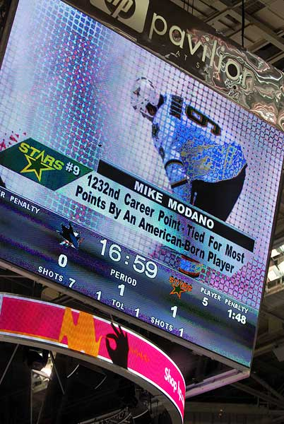 Modano surpasses Phil Housley for alltime US point record