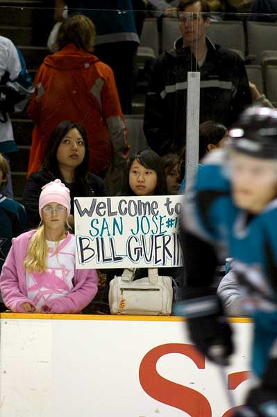Bill Guerin San Jose Sharks