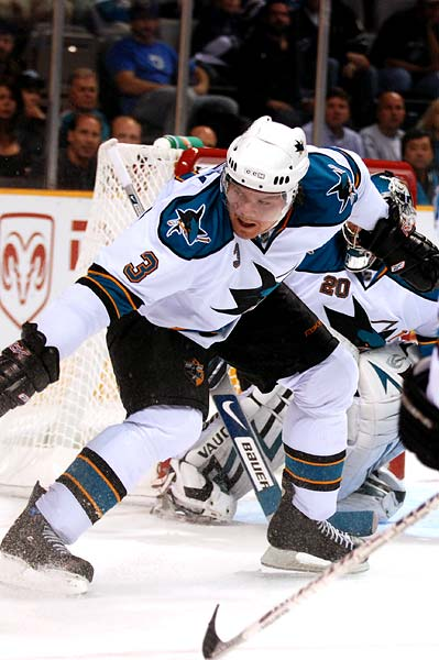 San Jose Sharks defenseman Douglas Murray
