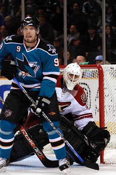 Phoenix Coyotes goaltender Ilja Bryzgalov