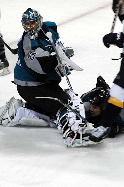 San Jose Sharks vs Nashville Predators