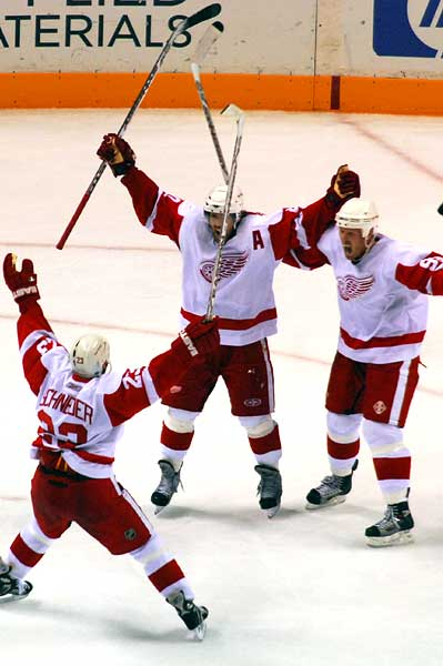 Detroit Red Wings game winning goal