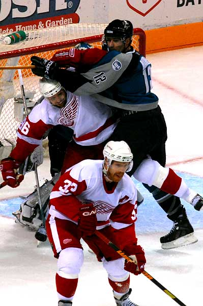 San Jose Sharks Detroit Red Wings playoffs
