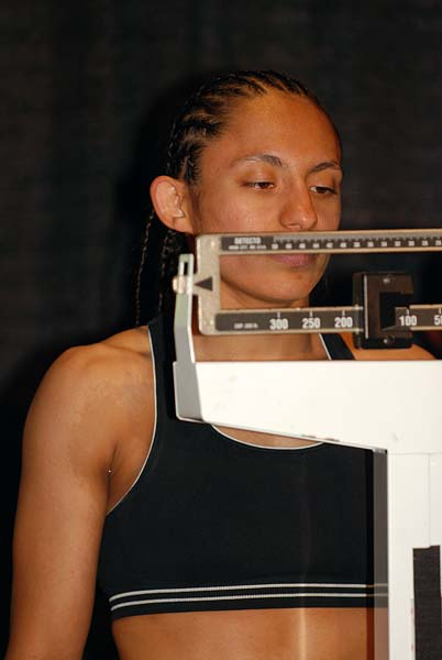 WBC Champion Carina La Reina Moreno