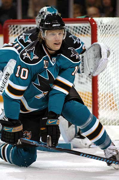 San Jose Sharks defenseman Christian Ehrhoff trade rumor Columbus Blue Jackets Jason Chimera