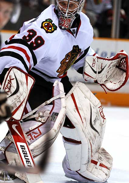 Chicago Blackhawks NHL photo Nikolai Khabibulin