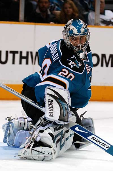 San Jose Sharks goaltender Evgeni Nabokov robbed in Vezina voting