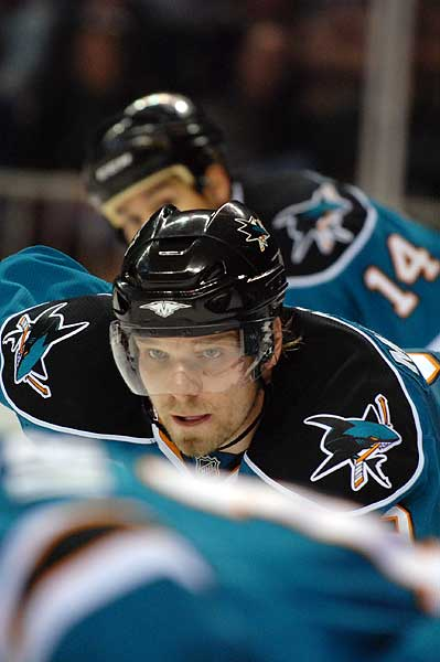 San Jose Sharks Milan Michalek hockey photo