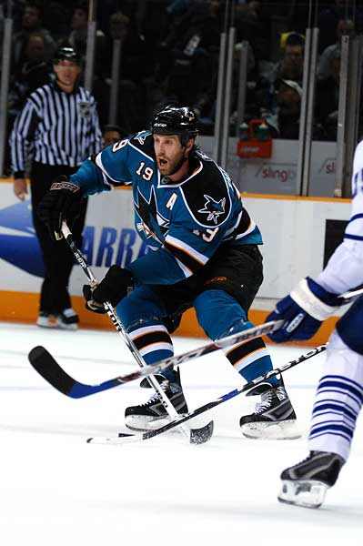 San Jose Sharks Joe Thornton hockey photo