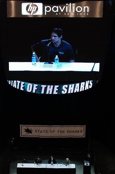 2008 State of the Sharks Cheechoo Wilson Jamison