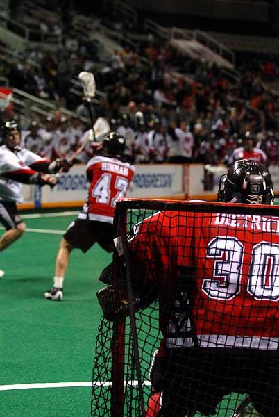 San Jose Stealth NLL Lacrosse home opener Calgary Roughnecks