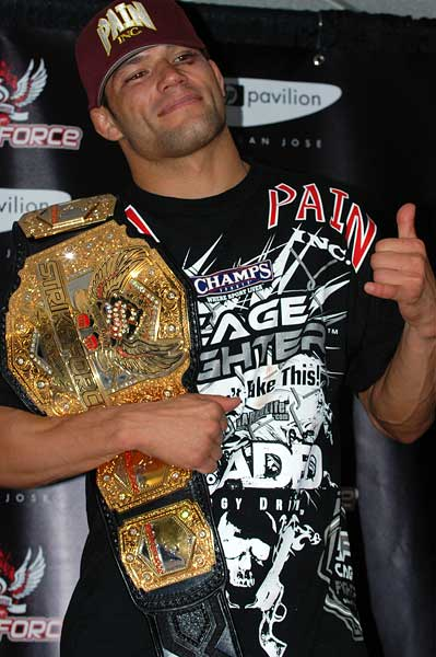 Strikeforce San Jose Josh Thomson Lightweight Champion