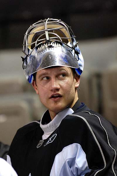 Toronto Maple Leafs NHL goaltender Vesa Toskala