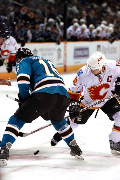 San Jose Sharks Calgary Flames NHL Stanley Cup Playoffs
