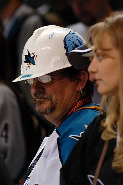 San Jose Sharks Dallas Stars hard hat