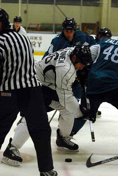 San Jose Sharks open training camp at Sharks Ice in San Jose, scrimmage