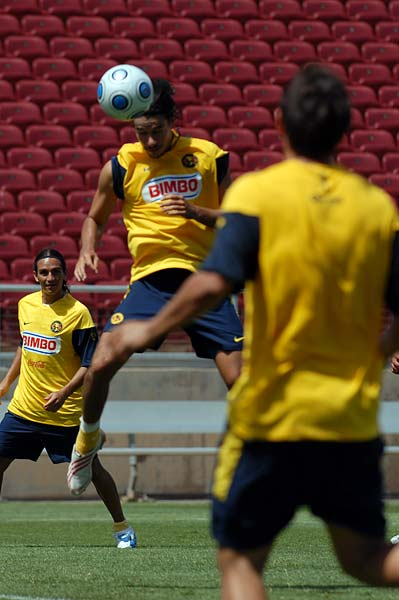 Club America Futbol open practice World Football Challenge F.C. Internazionale Milano Stanford