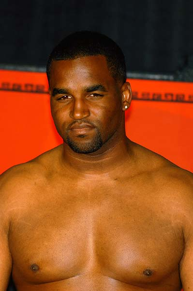 ESPN Friday Night Fights weigh-in San Francisco heavyweight boxer Ashanti Jordan