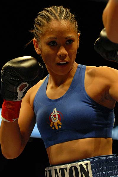 Daly City's Ana Julaton will face Donna Biggers for the WBO Super Bantamweight world title tonight in San Jose