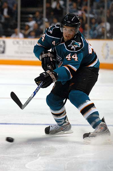 San Jose Sharks Anaheim Ducks preseason Marc Edouard Vlasic