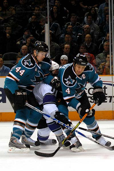 Marc Edouard Vlasic Rob Blake Anze Kopitar Sharks Kings