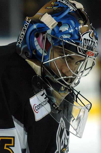 Stockton Thunder ECHL goaltender Andrew Perugini photo