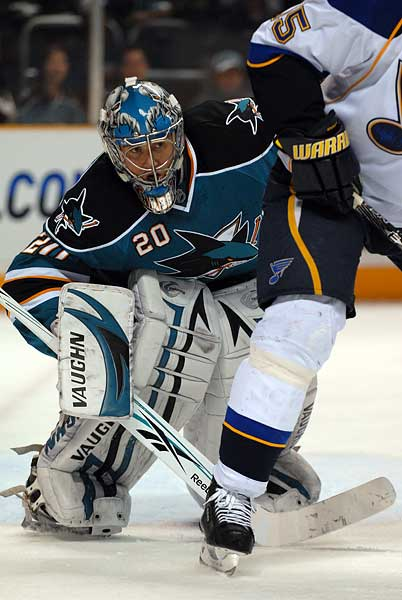 San Jose Sharks will not resign goaltender Evgeni Nabokov