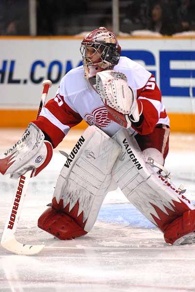 Detroit Red Wings goaltender Jimmy Howard