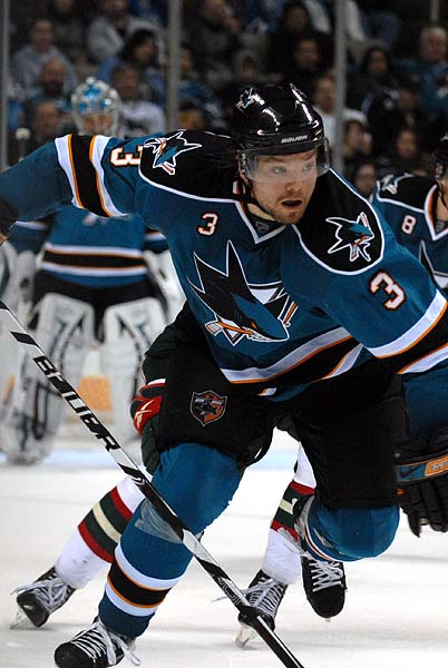 San Jose Sharks defenseman Team Sweden olympian Douglas Murray