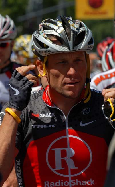 2010 Tour of California stage 4 San Jose Lance Armstrong