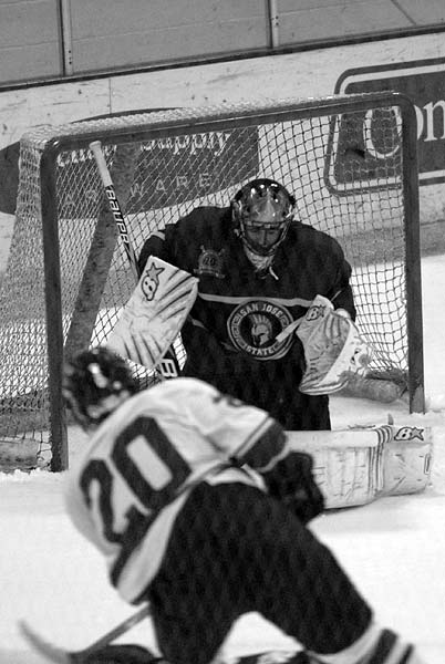 San Jose State goaltender Alessandro Mullane made 48 saves against Florida Gulf Coast University in loss at ACHA D2 National Tournmanet