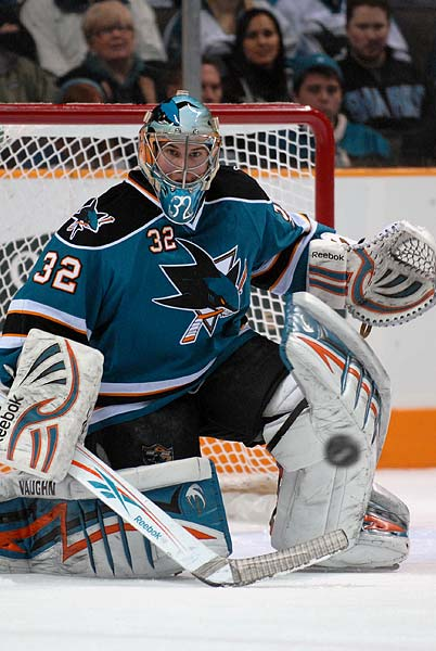 San Jose Sharks Worcester Sharks goaltender Alex Stalock injury
