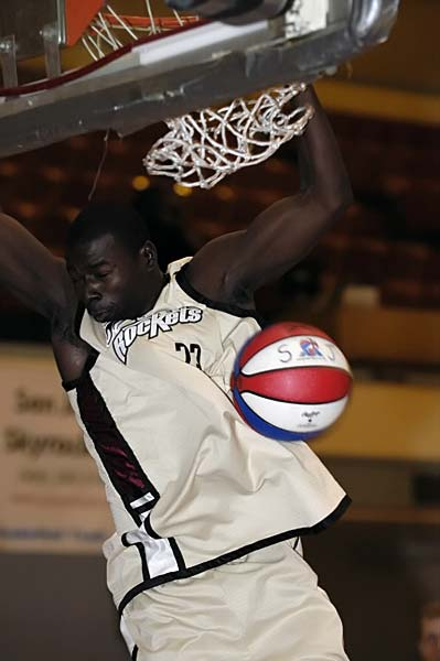 San Jose Skyrockets ABA basketball