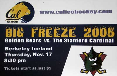 CAL vs Stanford Big Freeze