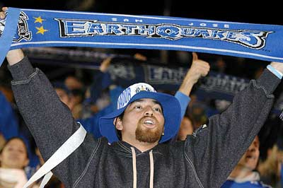 San Jose Earthquakes fan