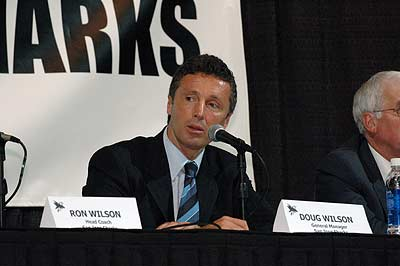 San Jose Sharks general manager Doug Wilson