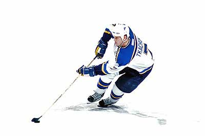 St Louis Blues Keith Tkachuk
