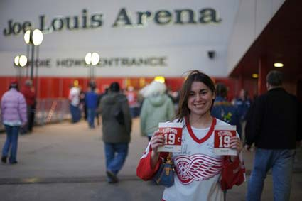 Detroit Red Wings Joe Louis Arena