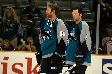 Joe Thornton Bill Guerin