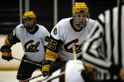 University California Berkeley hockey