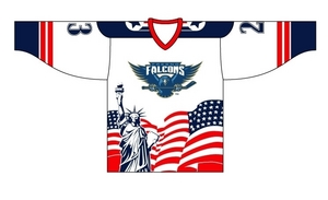 Fresno Falcons Veterans Day jersey