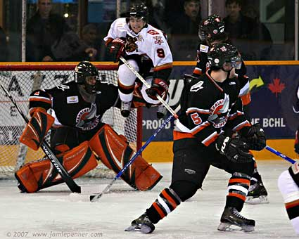 Nanaimo Clippers BCHL Jamie Penner