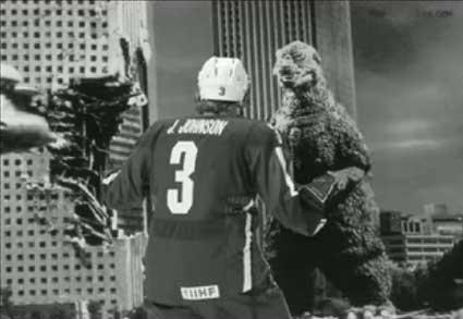 Godzilla Jack Johnson