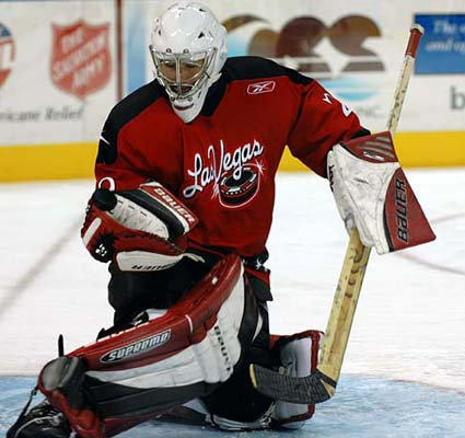 ECHL Las Vegas Wranglers Mike McKenna